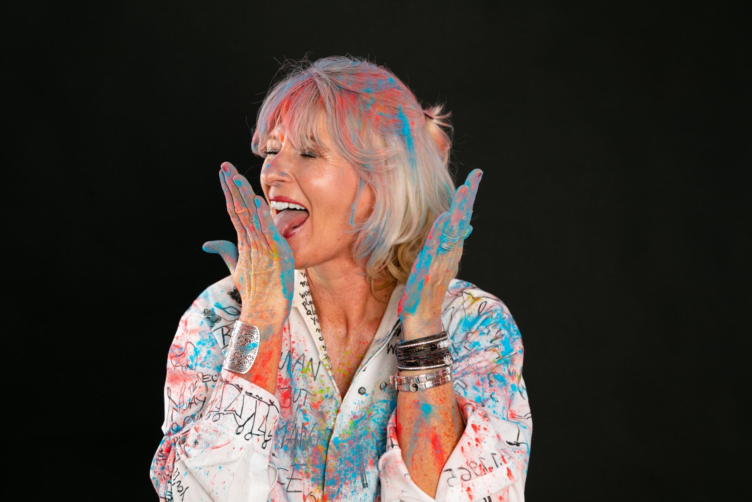 Brigitte Wohlmuth Die Künstlerin